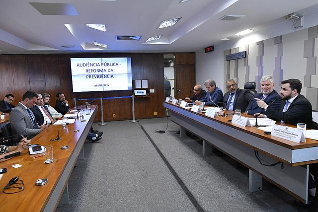 CDH promove audiência pública sobre a proposta de Reforma da Previdência
