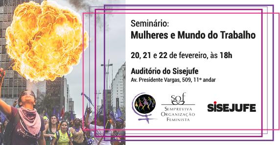 Sisejufe promove seminário Mulheres e Mundo do Trabalho