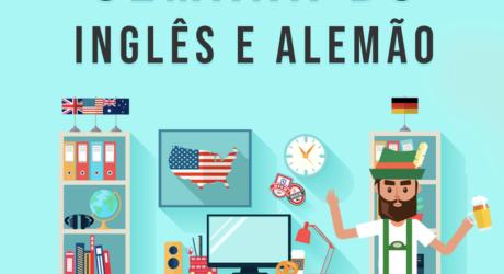 Semana do Inglês e Alemão