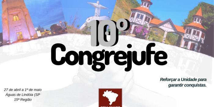 Começa nesta sexta-feira (26/4) 10º Congrejufe. Rio é representado por 66 delegados