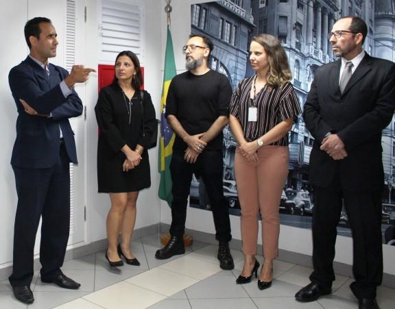 Sisejufe participa da inauguração do Espaço de Convivência e Inovação da Seção Judiciária