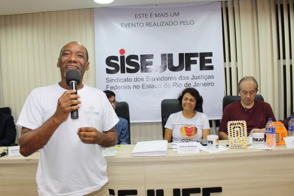 Diretoria apresenta ações do Sisejufe Solidário aos sindicalizados
