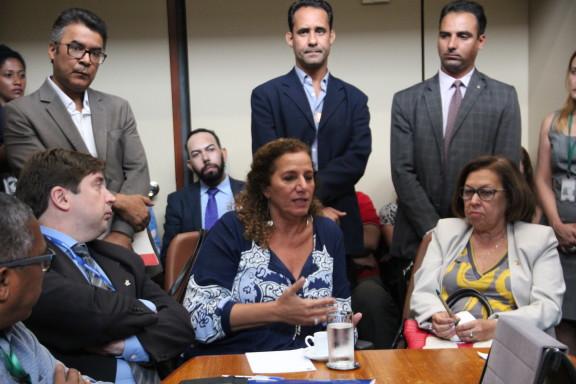 Sisejufe e outras entidades debatem com parlamentares da oposição ações para barrar Reforma da Previdência