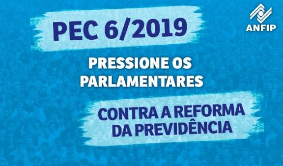 Pressione os parlamentares contra a Reforma da Previdência