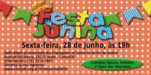 Ingressos para Festa Junina do Sisejufe já estão à venda