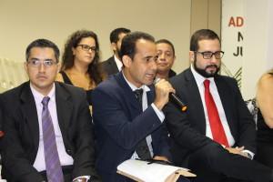 O Sisejufe foi representado pelo João Victor, Valter Nogueira Alves e Lucas Costa
