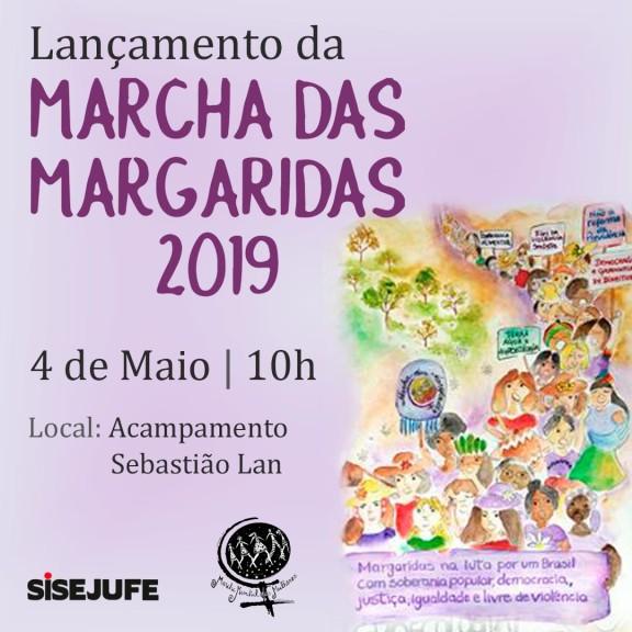 Núcleo participa do lançamento da Marcha das Margaridas 2019 no estado do Rio