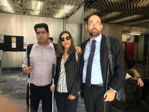 Sisejufe foi representado pelo diretor Ricardo de Azevedo Soares, coordenador do DA). Também participaram Adverj, Cíntia Freitas, e o vice-presidente da Comissão de Defesa da Pessoa com Deficiência da OAB-RJ, Luiz Cláudio Freitas.