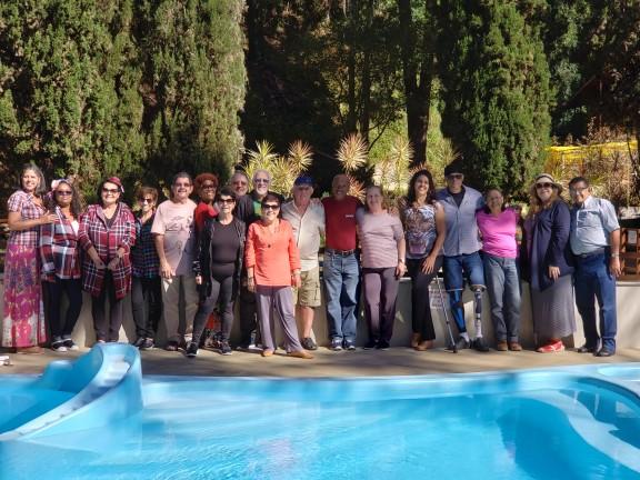 DAP: Aposentados curtem festa junina na serra