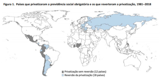Deu na Imprensa: privatizar a previdência foi um fracasso em todo o mundo, diz OIT