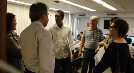 Diretoria do Sisejufe percorre tribunais para mobilizar servidores rumo à Greve Geral