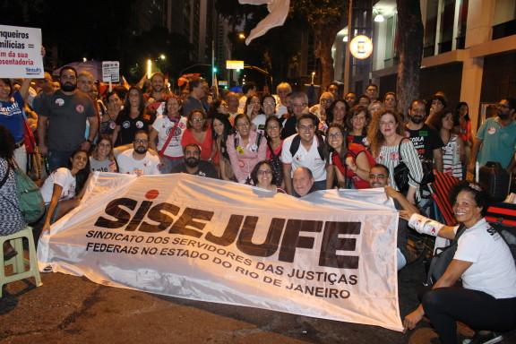 Greve Geral: servidores do Judiciário dizem não à Reforma da Previdência