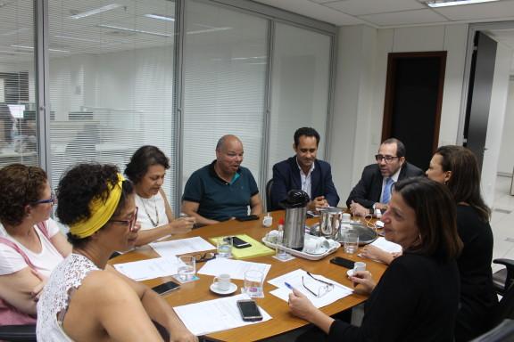 Sindicato apresenta novas demandas da categoria em reunião da mesa permanente com a Administração da Justiça Federal