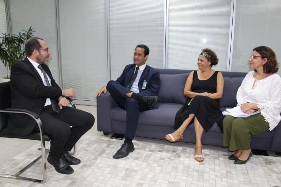Diretoria do Sisejufe se reúne com direção do Foro da Justiça Federal para comunicar adesão da categoria à greve geral