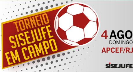 Torneio Sisejufe em Campo: a bola está com os servidores