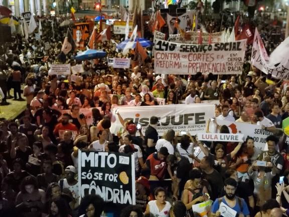 Sisejufe convoca servidores e servidoras para Dia de Luta contra Reforma da Previdência, nesta sexta (12)