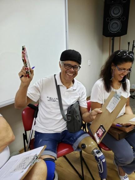 Bingo e informes sobre a conjuntura na reunião mensal do DAP