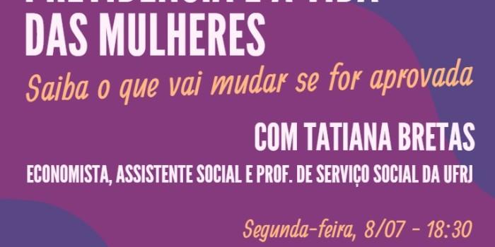 Sindicato recebe formação feminista sobre Reforma da Previdência