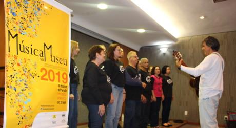 Coral do Sisejufe se apresenta no evento Música no Museu 2019 no CCBB