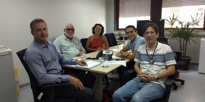 Direção do Sisejufe se reúne com o diretor-geral do TRT do Rio