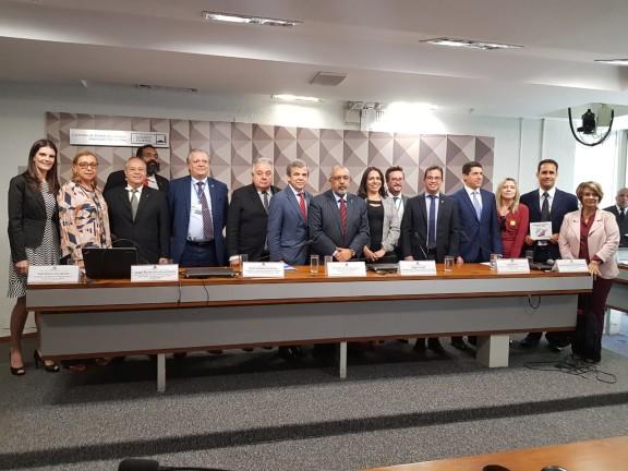 Diretoria do Sisejufe participa de articulações para pressionar parlamentares a votarem contra Reforma da Previdência