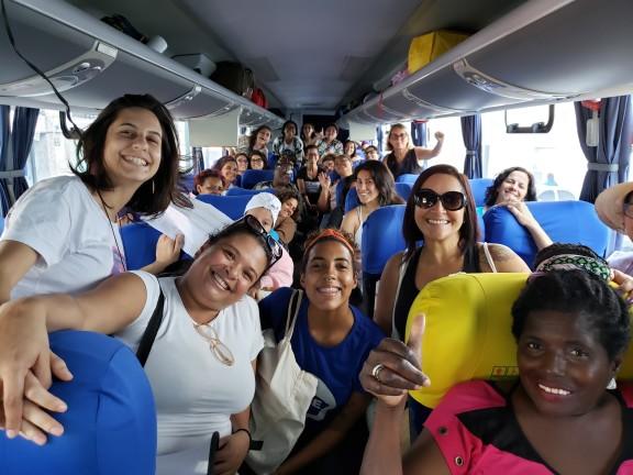 Margaridas do Judiciário rumo a Brasília