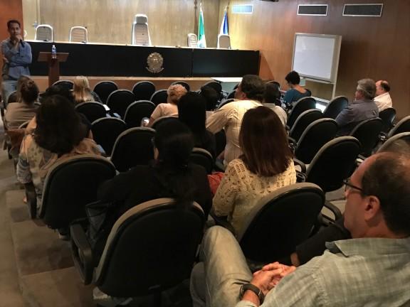 Servidores do TRE recebem esclarecimentos sobre Quintos. Próxima reunião será na segunda (5/8), na JF Venezuela