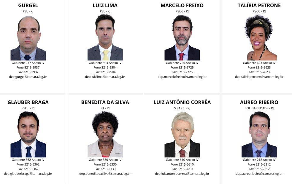 Deputados Federais RJ - por Partido-3 (1)